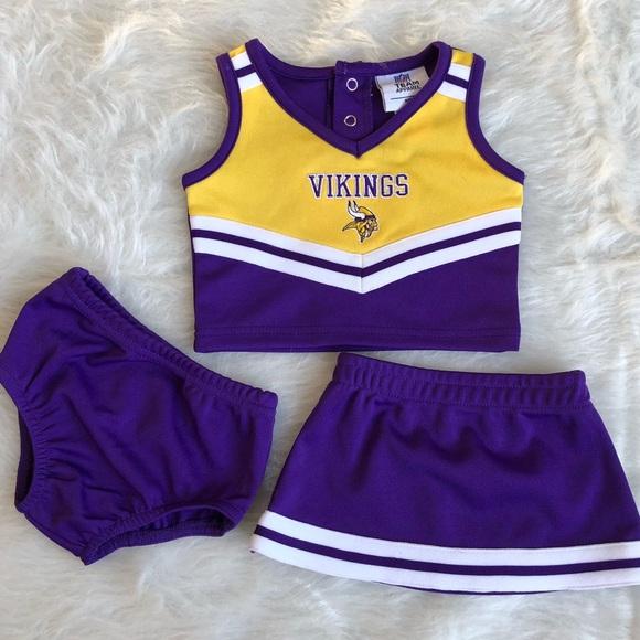 ... Vikings Cheerleader Baby Outfit 0-3 Mo. M 5aa42da500450fa8ff2dd57c 552a40a94